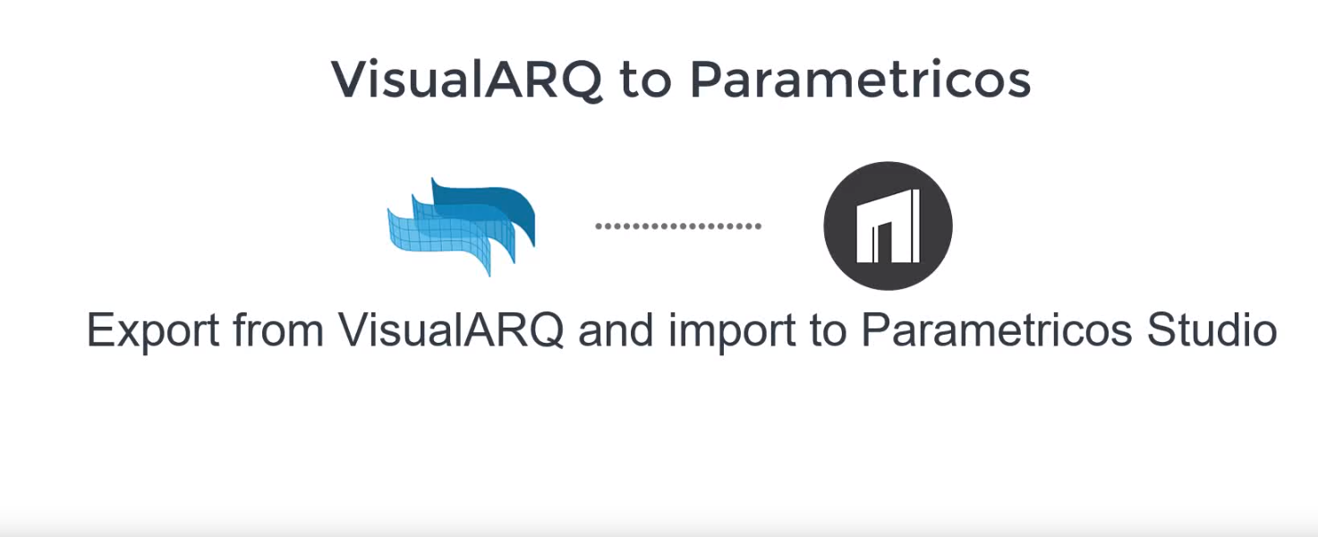 VisualARQ to Parametricos